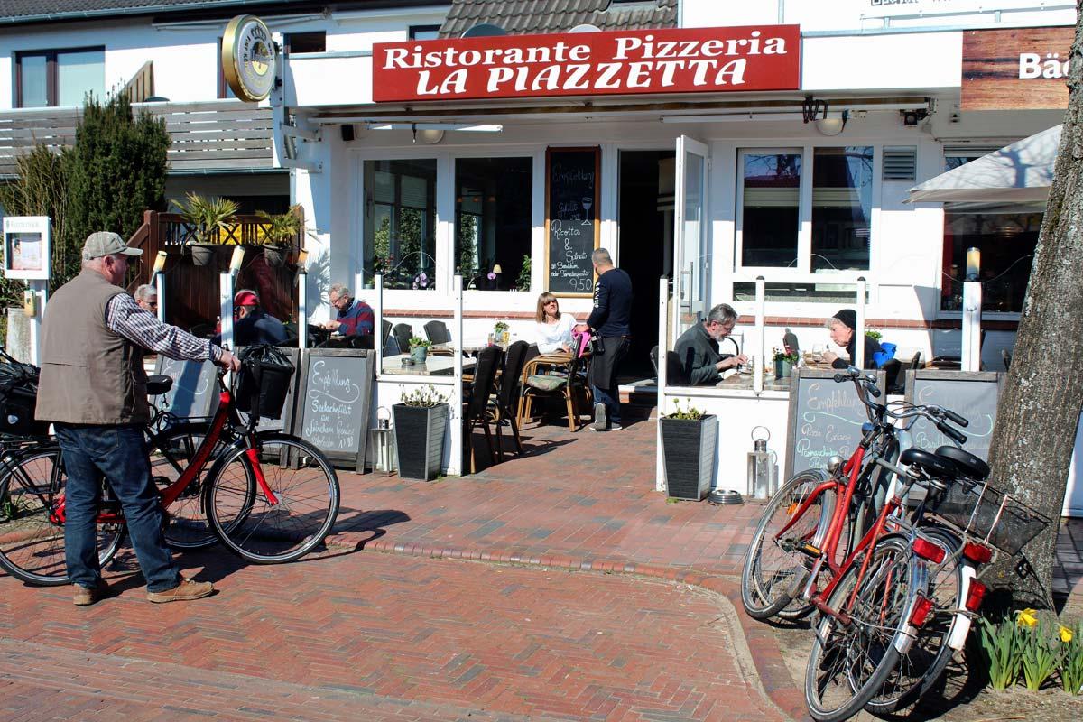 restaurantss st peter ording